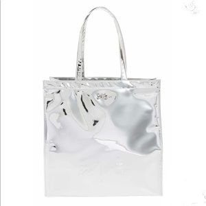 TED BAKER Large Mirrored Tote Bag